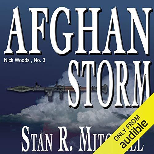 Afghan Storm audiobook cover art
