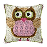 DIY Craft Needle Ricamo FAI DA TE divano cuscino copertina fai da te cuscino da cuscino for uncinetto ricamo adatto for adulti e bambini 17 x 17 pollici Kit per fabbricare tappeti a punto croce
