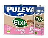 Puleva Leche Ecológica Desnatada Bio - Pack 6 x 1 L - Total: 6 L