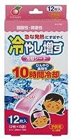 紀陽除虫菊 冷やし増す 冷却シート 12枚入 子供用 ももの香り【まとめ買い8個セット】 K-2166