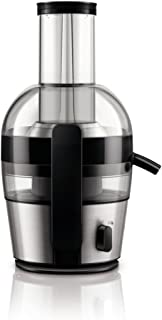 PHILIPS 700W Viva Collection Juice Extractor, HR1863/22, Silver - International Version