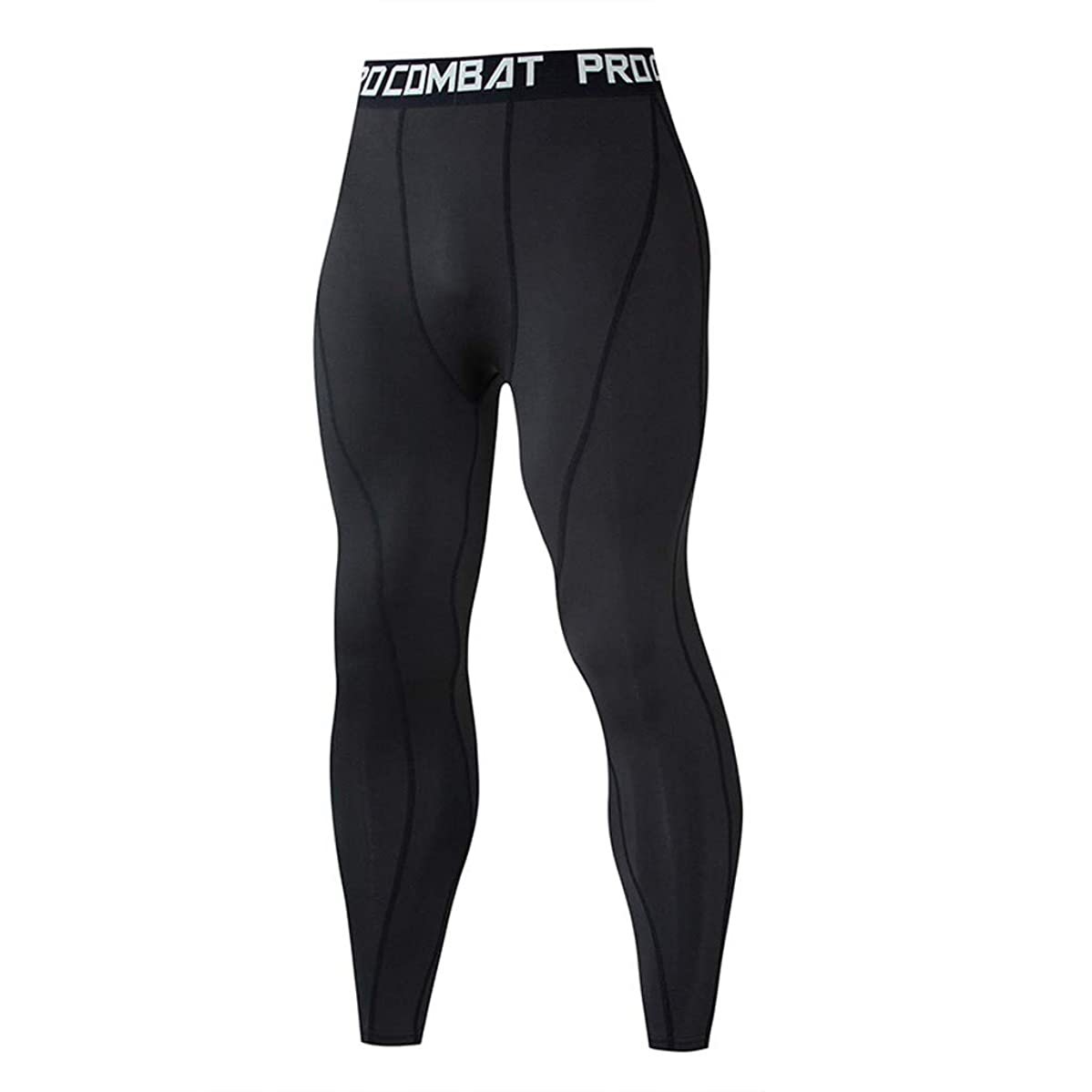 Men's Casual Fitness Pants Athletic Workout Training Sweat Elastic Fast Drying Elastic Sports Long Pants Size S-3XL