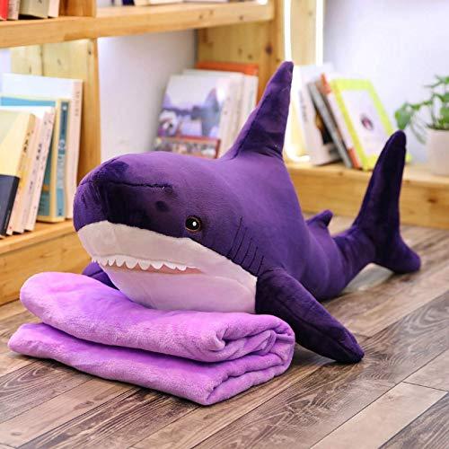 huobeibei Rusia Shark from Ike A Stuffed Pink Shark Pillow Peluches Cojín de sofá Grande para niñas Niños 140cm E
