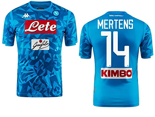 Kappa Italia SSC Napoli Trikot Mertens Offiziell 2018-19 Kombat Extra (M)
