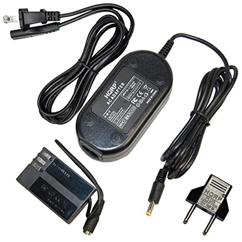 adapter for pentaxes HQRP AC Adapter Compatible with PENTAX K-S1 K-S2 KS-1 KS1 KS-2 KS2 SLR Digital Camera Power Supply Cord + Euro Plug Adapter