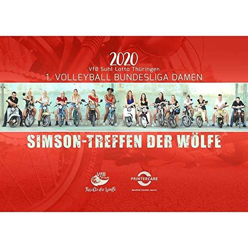 Simson Kalender für das Jahr 2020 - Spitzensport trifft Kultmarke