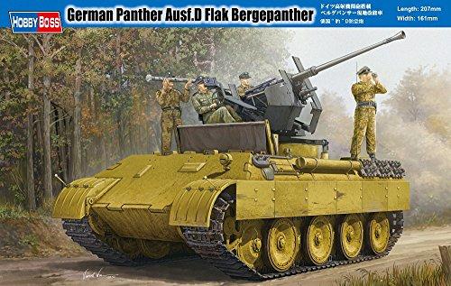 Hobbyboss 1:35 - German Panther Ausf D Flak Bergepanther - HBB82492