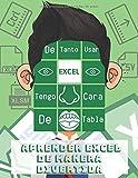 De tanto usar Excel tengo cara de tabla. Aprender Excel de manera divertida: Excel para dummies - curso excel - Microsoft office 2016 - libro de colorear para adultos - shortcodes
