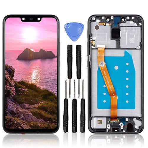 """LL TRADER Display per Huawei Mate 20 Lite Schermo con Cornice LCD da 6.3"""" e Gruppo Digitalizzatore Sostituzione Vetro Display Touch Screen + Frame + Strumenti di Riparazione"""