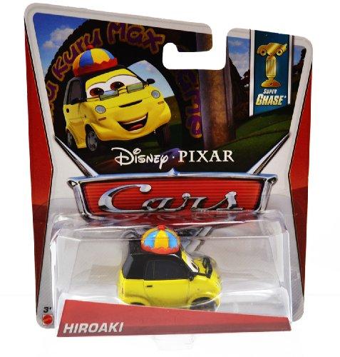 Disney Pixar CARS 2 Movie 1:55 Die Cast Car *Ultimate Super Chase* Hiroaki - Edition Limitée: 4000 - Voiture Miniature Echelle 1:55