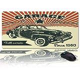 Alfombrilla de ratón Grande para Escritorio 35x15 in, Garace Desde 1960 Almohadilla de Teclado Servis Completa para Gamer, Office y Home