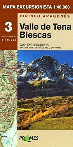 Mapa Excursionista Valle De Tena-biescas