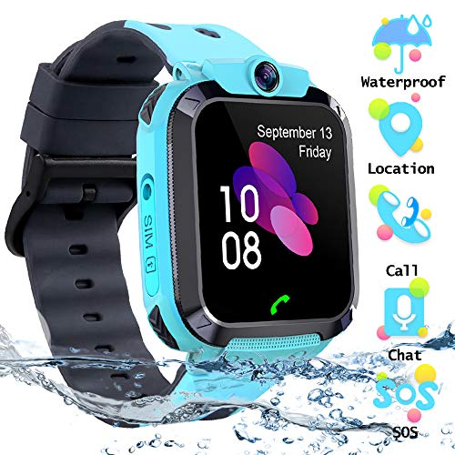 SZBXD Kids Waterproof Touchscreen Smartwatch