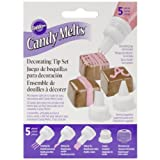 Wilton 5-Piece Candy Melt Decorating Tip Set