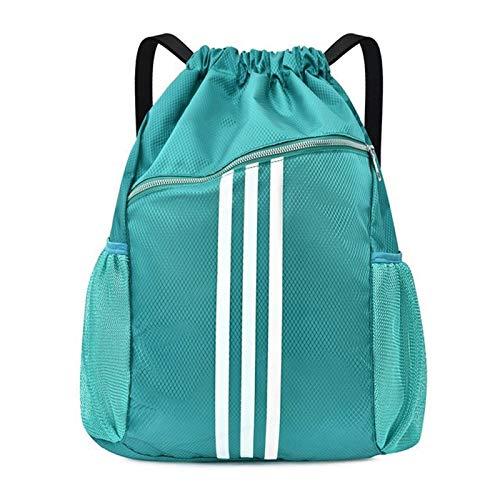 Borsa da palestra sportiva Palestra coulisse Borse - Sport e ginnastica Borse pallacanestro zaino for le donne sportive Fitness Yoga Bag con coulisse Gym Bag Tracolla regolabile per un facile utilizzo