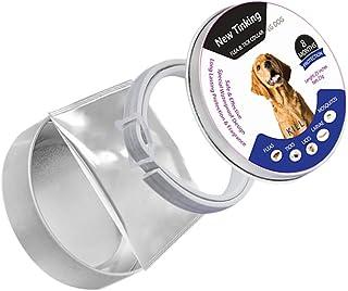 comprar comparacion Sue Supply Collar para perros de 8 meses de protección, ajustable e impermeable, la mejor solución de plagas naturales par...