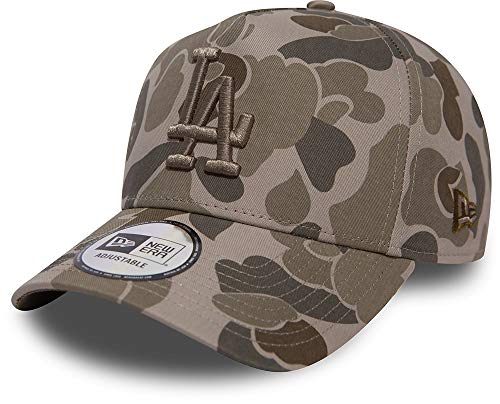 New Era Camouflage A-Frame Snapback Cap (One Size, Los Angeles Dodgers)