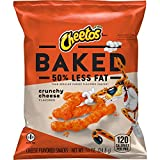 Frito-Lay's Cheetos Baked Crunchy Cheese, 0.875oz Bag (Pack of 40)