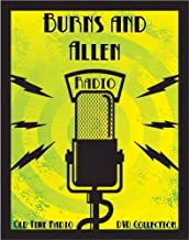 160 Classic Burns and Allen Old Time Radio Broadcasts on DVD (over 75 Hours 49 Minutes running time)