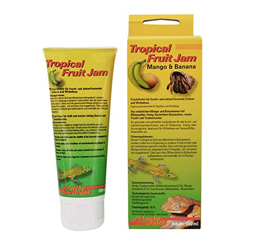 Lucky Reptile Tropical Fruit Jam Mango und Banane 100 ml, 1er Pack (1 x 100 ml)