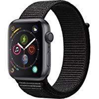 Apple Watch Series 4 44mm GPS Smartwatch with Black Sport Loop Band (Space Gray Aluminium Case)