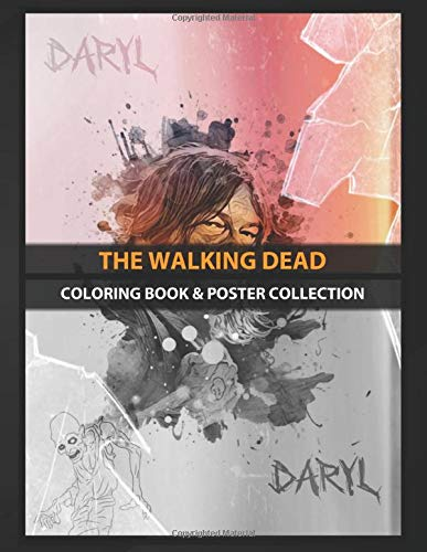 Coloring Book & Poster Collection: The Walking Dead Daryl Dixon Tv Shows