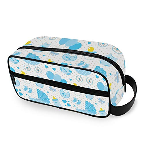 Outils Cosmetic Train Case Wallet Portable Storage Travel Travel Cute Baby Pattern Makeup Bag Toiletry Pouch