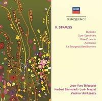 Strauss: Burleske / Duet Concertino / Oboe Cto by BLOMSTEDT / MAAZEL / ASHKENAZY / GULDA (2008-10-13)
