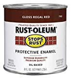 Rust-Oleum 7765730 Protective Enamel Paint, 8-Ounce, Regal Red