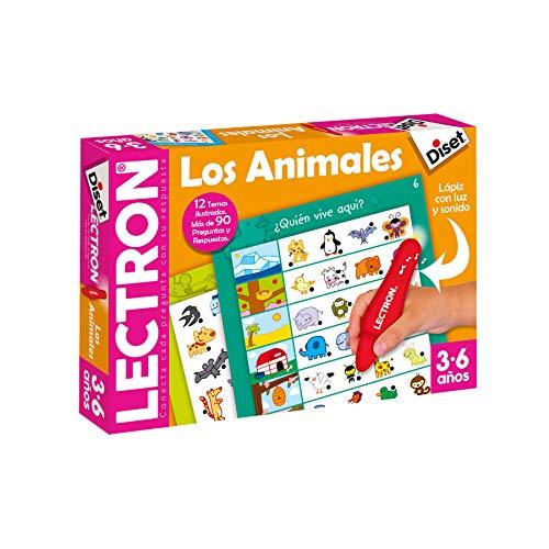 Diset 63883 - Lectron Lapiz Los Animales - Juego educativo a partir de 3 años