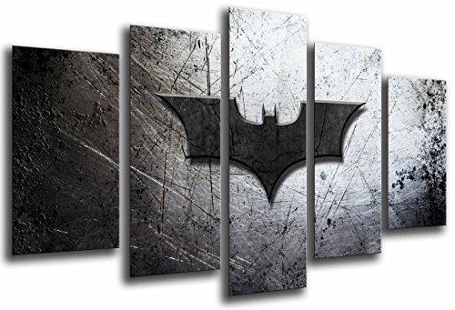 Wandbild - Batman, Der Joker, Superheld, 165 x 62 cm, Holzdruck - XXL Format - Kunstdruck, ref.26564
