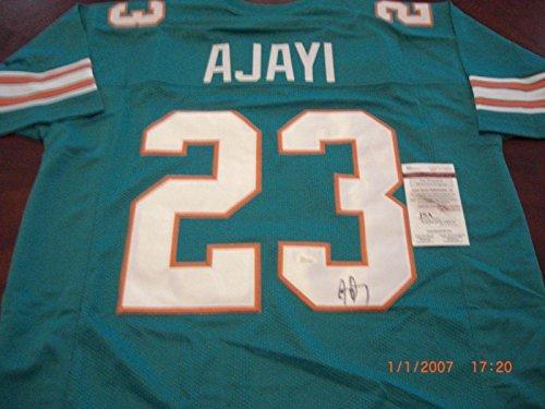 Jay Ajayi Boise State,miami Dolphins Future Running Back Jsa/coa Signed Jersey - Autographed NFL Jerseys