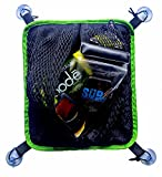 SUP-Now Paddleboard Deck Bag with Waterproof Insert (Green Trim)