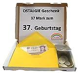WallaBundu OSTALGIE Geschenkidee - 37 Mark zum 37. Geburtstag – EIN symbolisch wertvolles Geschenk mit ca. 11 verschieden Umlaufmünzen aus der DDR Zeit und...