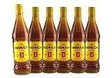 Ron AREHUCAS Carta Oro, kanarischer Rum, 37,5% vol, 6er Sparpack 6 x 700 ml