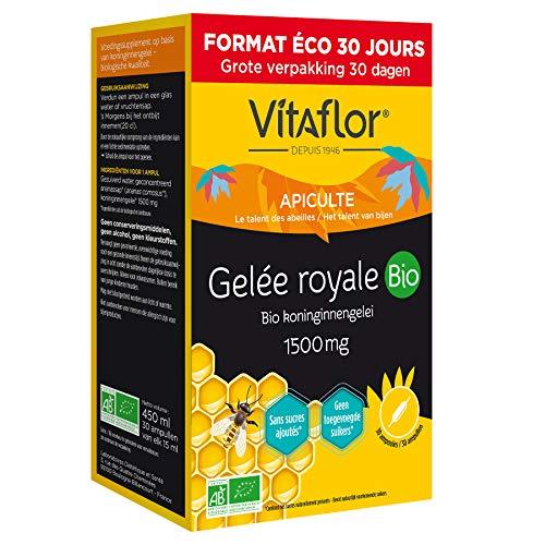 VITAFLOR Gelée Royale 1500 mg | Pack Eco 30 jours