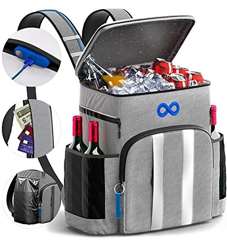 Everlasting Comfort Waterproof Cooler Backpack Bag