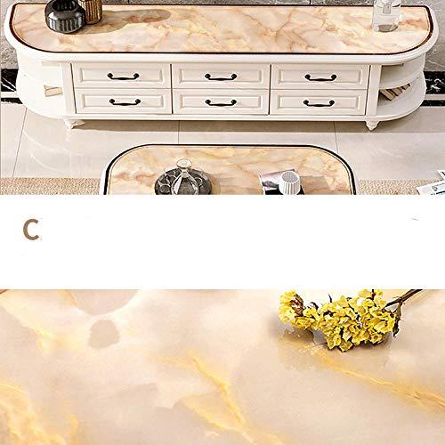 LFchujian Sticky Back Plastic Marmer, Tafel Keuken Badkamer Aanrechtblad Kasten Planken (0.6 * 5m).