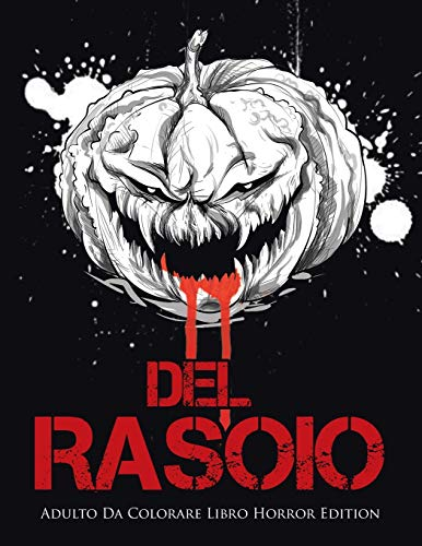 Del Rasoio: Adulto Da Colorare Libro Horror Edition
