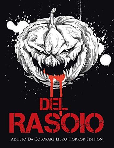 Del Rasoio: Adulto Da Colorare Libro Horror Edition