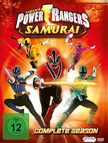 Power Rangers - Samurai (Die komplette Serie) [4 DVDs]