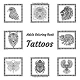 Adult Coloring Book - Tattoos