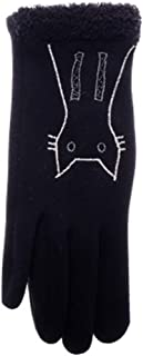 Womens Winter Warm Touchscreen Gloves Fleece Lined Cold Weather Thick Gloves