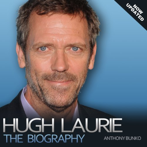 Hugh Laurie audiobook cover art