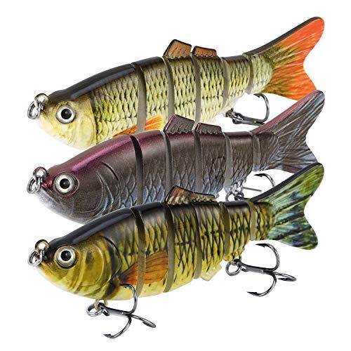 Magreel Swimbaits Lures Multi Jointed Fishing Swimbaits Slow Sinking...