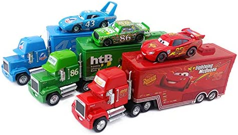 YINY Pixar 5 Kansas City Mall ☆ very popular Cars Mack Uncle Chic McQueen Francesco King Lightning