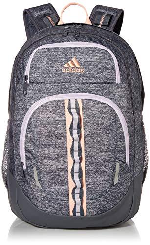adidas Prime Rucksack, Unisex-Erwachsene, Prime, Rucksack, 977613, Onix/Onix/Coral/Purple V5, Einheitsgröße