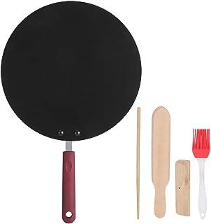 SunshineFace Bärbar Crepe Maker non-stick stekpanna pannkaka stekpanna stekpanna mini matlagningsverktyg