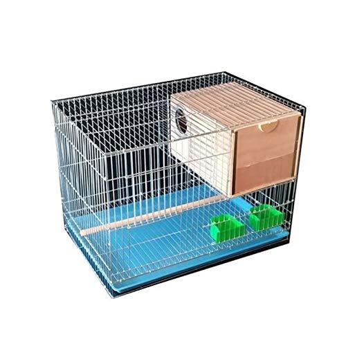 KGDC Gabbia Voliera per Uccelli Gabbia per Uccelli del Pappagallo Rettangolare Bird Piccolo Bird Birding Bird Cage Forniture per Animali Domestici Uccelli Gabbie