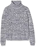 NIZZIN Molly suéter, Gris (Mid Grey Mel 002), Large
